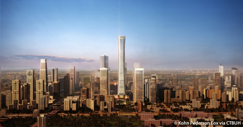 Top 5 China tallest under construction buildings