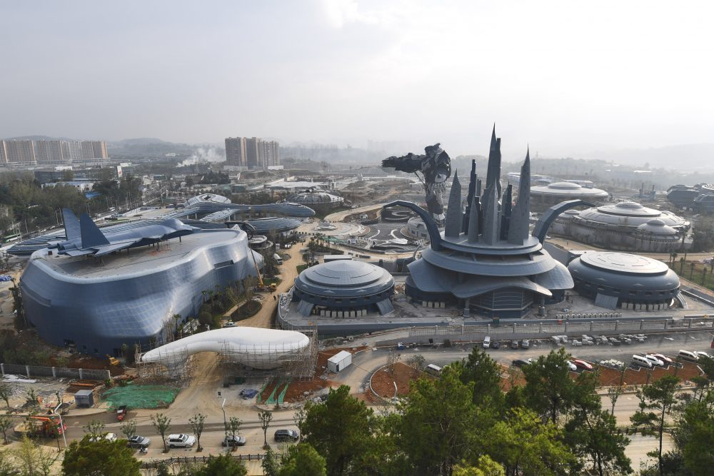 China Creates the First VR Theme Park